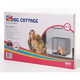 Dog Cottage Crate 118x77x84cm