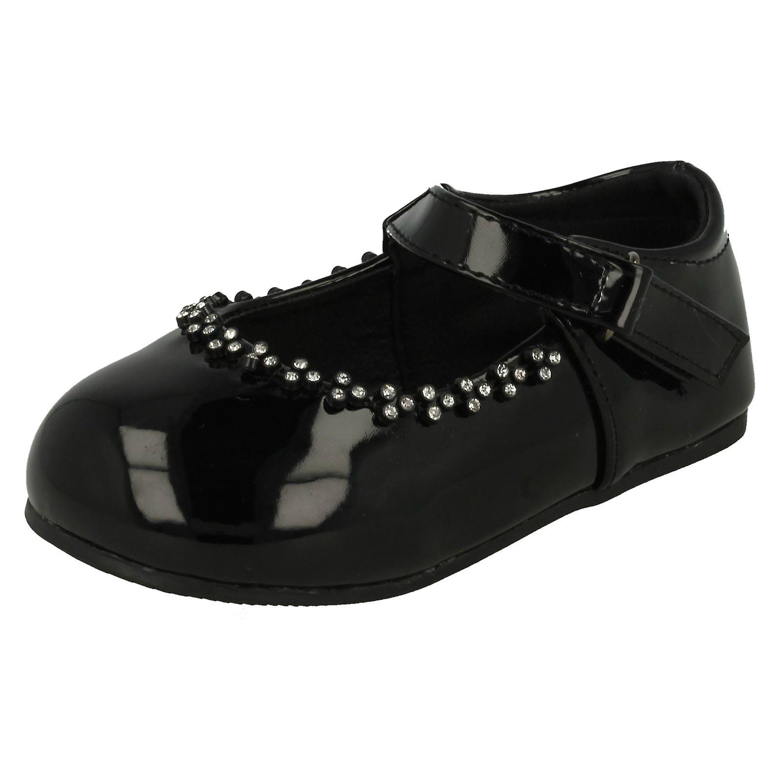 Ragazze posto sul Diamante dettaglio scarpe partito | Materiali Selezionati Con Cura  | Scolaro/Signora Scarpa