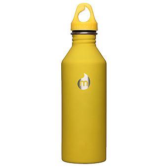 Mizu M8 800ml rustfrit stål flaske - gul