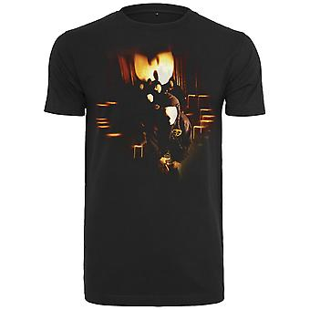Wu-wear hip hop T-shirt - black MASKS