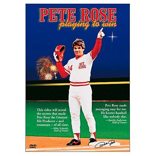 Pete Rose - Playing to Win [DVD] USA import