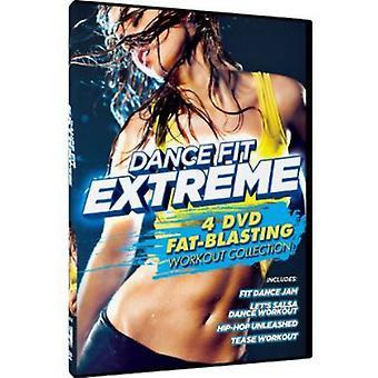 4 fett sprängning träning [DVD] USA import