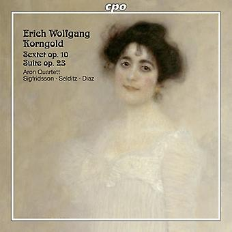Korngold - Erich Wolfgang Korngold: Sexteto Op. 10; Suite Op. 23 [CD] USA importar