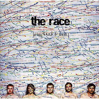 Race - i mit hoved det værker [CD] USA import