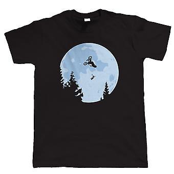 BMX ET Moon, Mens T Shirt