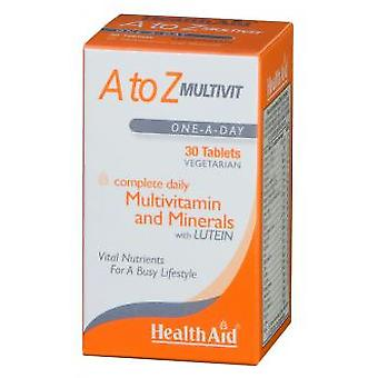 Health Aid AzMultivitaminsAnd Minerals 90 Tablets