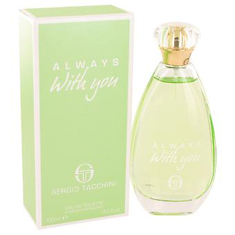 Sergio Tacchini Women Sergio Tacchini Always With You Eau De Toilette Spray By Sergio Tacchini