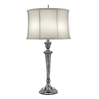 Stiffel Syracuse Table Lamp Antique Nickel