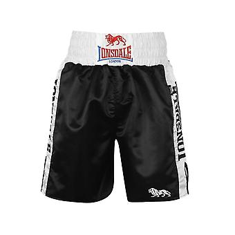 Lonsdale Lonsdale Pro Large Logo Trunks - Black / White