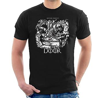 Hodor Hold The Door Game Of Thrones Scene Men's T-Shirt