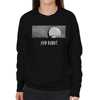 Trist robotten Marvin blaffere Guide To Galaxy kvinders Sweatshirt
