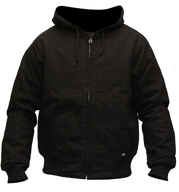 Dickies Bennett zip up jacket black