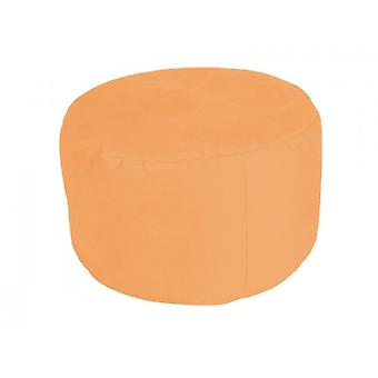 Pouf Alka light orange large 34 x 47 x 47 with filling