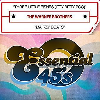 Warner Brothers - tre små fisk (Itty Bitty Poo) [CD] USA importerer