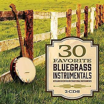 Forskellige kunstner - 30 foretrukne Bluegrass instrumentale [CD] USA importerer