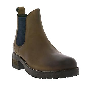 BLACK shoes ladies Chelsea boots leather ankle boots Brown 264 484