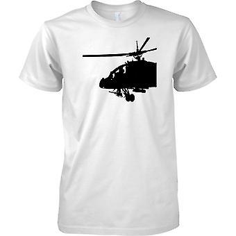 Apache-Hubschrauber-Cockpit - genial militärische Chopper - T-Shirt für Herren