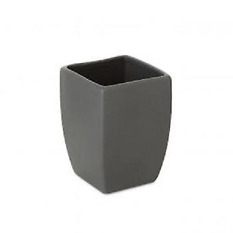 Tatay Thai Glass Anthracite (Bathroom accessories , Toothbrush holder)