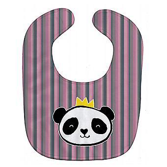 Carolines Treasures  BB7037BIB Panda Bear Queen Baby Bib