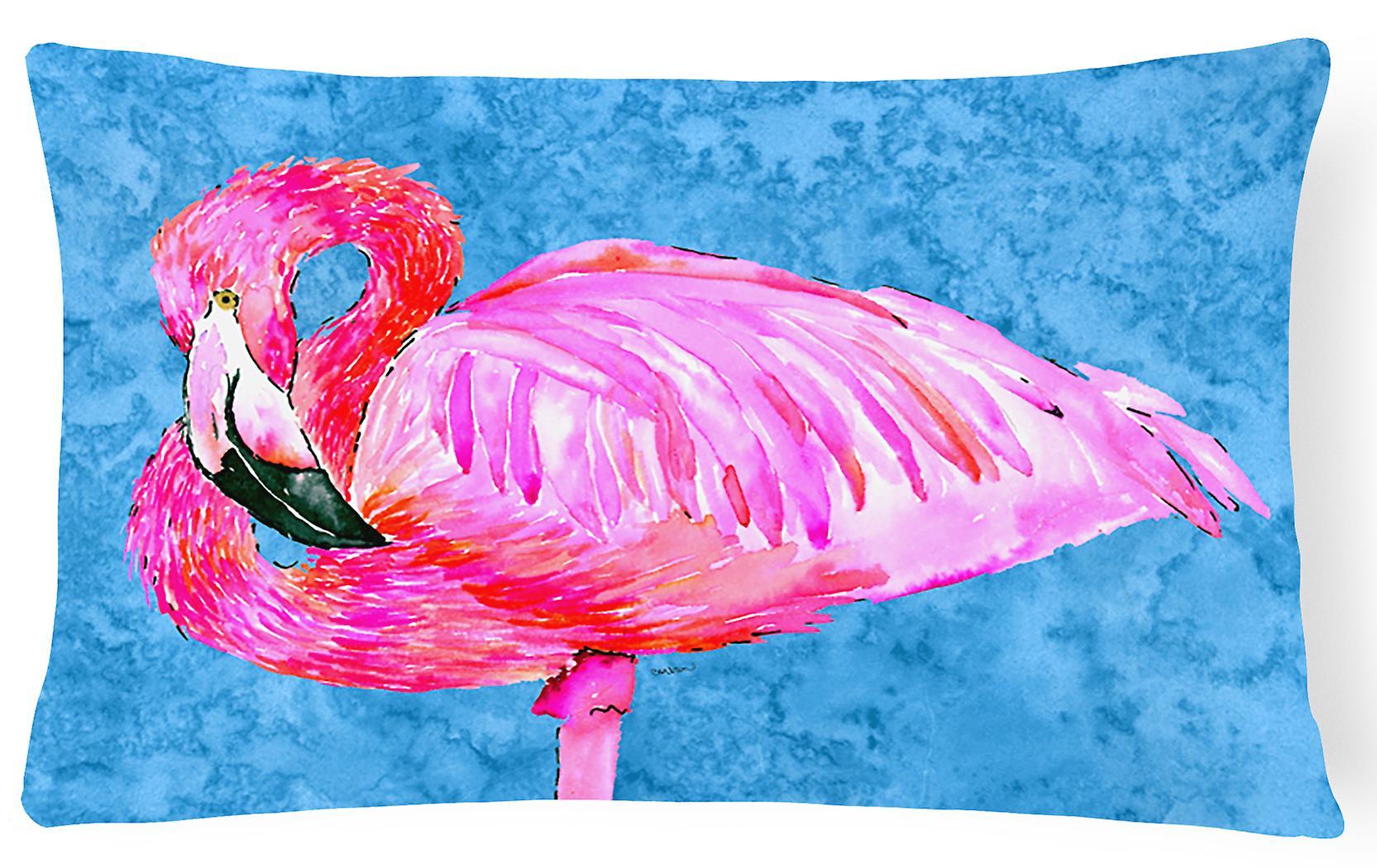 Toile Décoratif Carolines Trésors Tissu Flamingo Oreiller 8686pw1216 1lFJcK