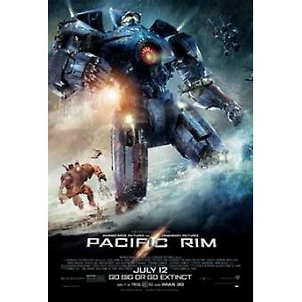 Pacific Rim One Sheet Poster Poster Print