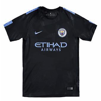 2017-2018 Man City Third Nike Football Shirt (Kids)