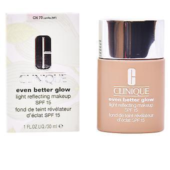 ÄNNU bättre glöd ljusreflekterande makeup SPF15