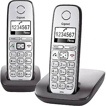 Cordless analogue Gigaset E310 Duo Hands-free Backlit
