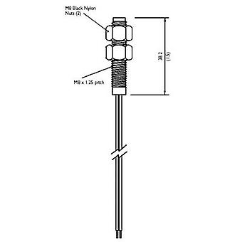 TE Connectivity Sensor PS 811 PS811 Position Switch For Screwing Into Plastic And Stainless Steel Normally open contact