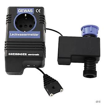 Water leak detector incl. external sensor Greisinger 601910 mains-powered