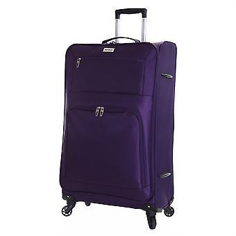 Karabar Lecce 78 cm maleta grande ligero, ciruela