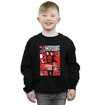 Disney Boys The Incredibles 2 Collage Sweatshirt