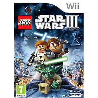 LEGO Star Wars 3 The Clone Wars (Wii)