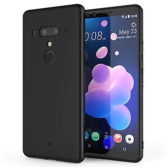 HTC U12 Matte TPU Gel - schwarz