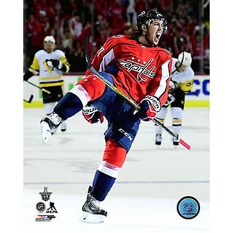 TJ Oshie 2017-18 Playoff Action Photo Print