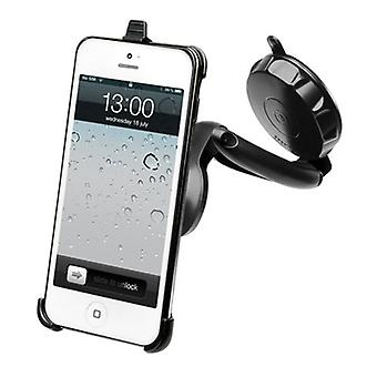 Muvit universal car holder 360 °, for windscreen fitting, Smartphone iPhone 5 5s SE