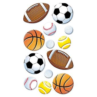 Sticko Stickers-Sports Balls