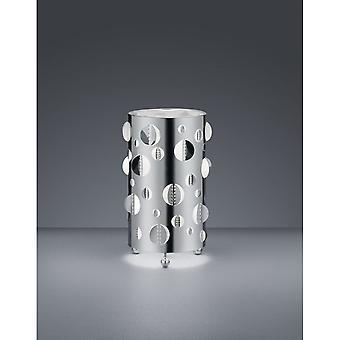 الثلاثي الإضاءة الحديثة Praque كروم معدني الجدول مصباح