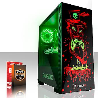 Feroce GOBBLER Gaming PC, veloce Intel Core i7 8700 K 4,5 GHz, 1 TB HDD, 8 GB di RAM, GTX 1060 6 GB