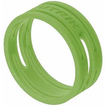 ID ring Neutrik XXR-SET-5 Green 10 pc(s)