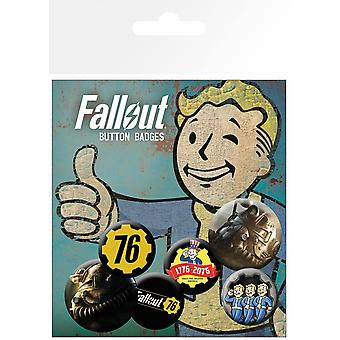 Fallout 76 T51b Badge Pack