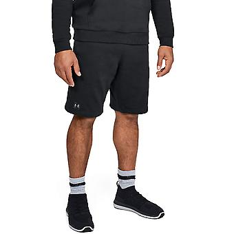 Under Armour Mens Rival Fleece Lightweight Wicking Training Shorts