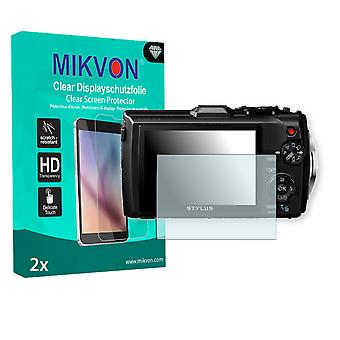 Olympus TG-4 Screen Protector - Mikvon Clear (Retail Package with accessories)