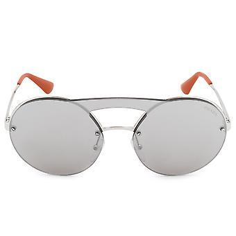 عدسة وحيدة برادا جولة PR65TS النظارات الشمسية 1BC2B0 36