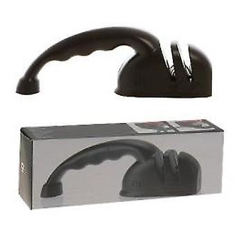 Knife sharpener for knives and scissors