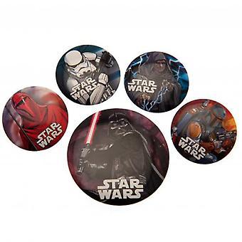 Star Wars Button Badge Set