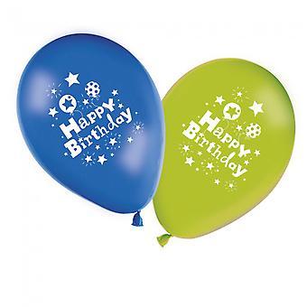 8 verjaardag ballonnen Happy Birthday 11