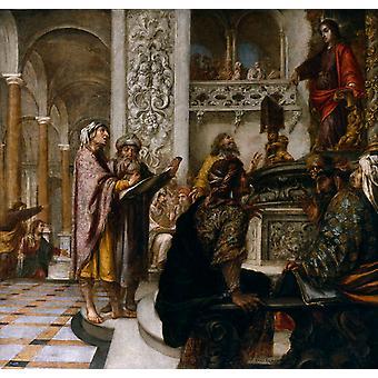 Juan de vales leal, Juan de Valdes Leal, 50x50cm