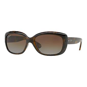 Ray - Ban Jackie Oh tortoise-shell Brown polarized gradient