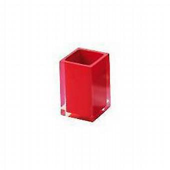 Arco iris de GEDY vaso brillante rojo RA98 06